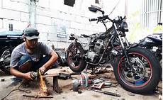Bengkel Custom Motor by Bengkel Custom Di Surabaya Ini Ubah Motor Biasa Jadi Berkelas