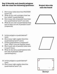 worksheets polygons and quadrilaterals 1025 3rd grade g 1 geometry polygons quadrilaterals parallelograms by mrs patton