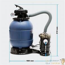 filtre 224 avec pompe pour piscine hors sol 21 kg de