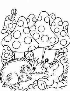 Malvorlagen Tiere Zum Ausdrucken Selber Machen Kostenlose Ausmalbilder Ostern Maulwurf Und Igel Zum