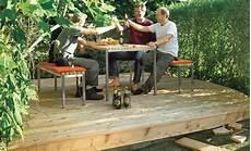 Garten Podest Selber Bauen - holzterrasse bauen selbst de