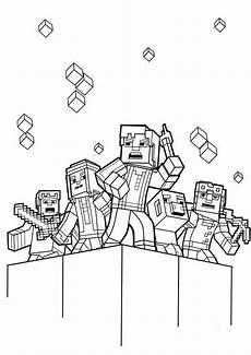 minecraft 1 ausmalbilder malvorlagen