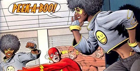 Peek A Boo The Flash