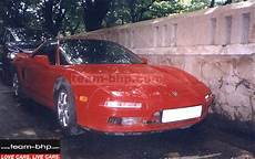 pic red acura nsx in bombay bangalore team bhp