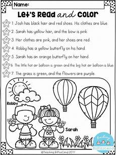 color by number reading worksheets 16235 18075 best kindergarten freebies images on kindergarten freebies school and