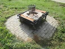 Grillstelle Im Garten - feuerstelle pflastern