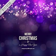 realistic merry christmas purple background vector premium download