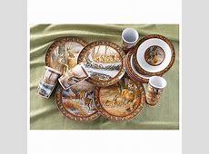 12 Pc. Melamine Dinnerware Set   297476, Dinnerware
