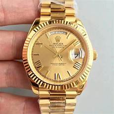 replica rolex day date 40mm yellow gold from cr