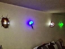 avengers wall lights for the win geek gadgets i love avengers wall lights superhero room