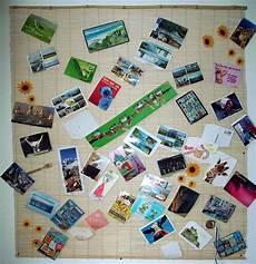 postkarten aufhängen ideen ninschis sammelsurium dekorative postkarten