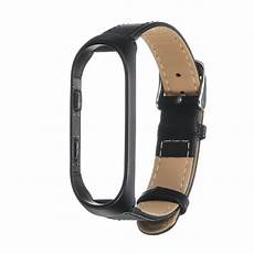 Bakeey Metal Leather by Smart Accessories Bakeey Leather Smart Band
