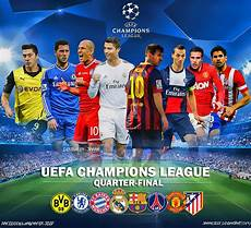 Uefa Chions League Quarter 2014 By Jafarjeef On
