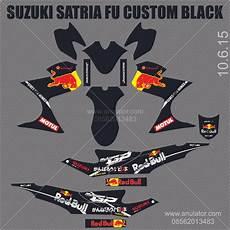 Stiker Motor Satria Fu by Jual Beli Sticker Striping Motor Stiker Suzuki Satria