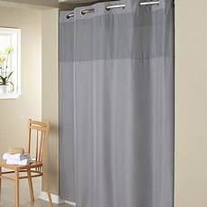 hookless mystery shower curtain hookless gray mystery polyester shower curtain