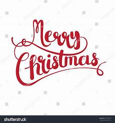 merry christmas vector text calligraphic lettering stock vector 523928347