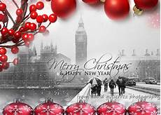 merry christmas and happy new year card from london