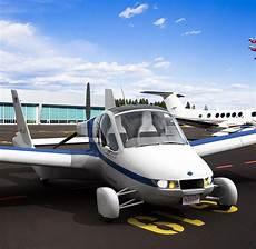 auto in gemieteter garage innovative technik jetzt geht das erste fliegende auto in