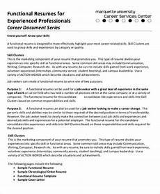 10 sle functional resumes functional resume template professional resume sles
