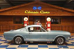 1966 Ford Mustang GT Fastback – Light Blue A&ampE Classic Cars