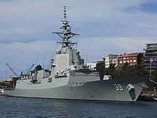 A I Destroyer hobart class destroyer