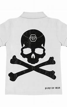 philipp plein plein skull polo grey boudi uk