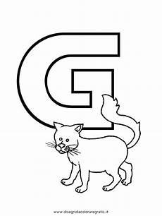 lettere alfabeto da stare e colorare disegno alfabeto gatto categoria alfabeto da colorare