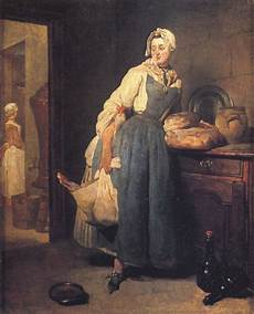 The Kitchen Jean Baptiste Simeon Chardin by Back From The Market By Jean Baptiste Simeon Chardin 1739