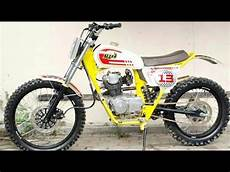 Cb Modif Trail by Honda Gl100 Modif Trail Vintage
