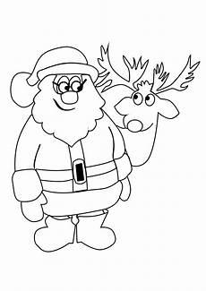 ausmalbilder weihnachtsmann kostenlos malvorlagen zum