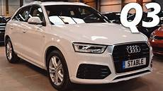 2016 audi q3 s line walk around shell white