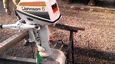 johnson 6cv outboard 1976 avi youtube
