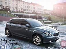 2017 Fiat Punto Rendering