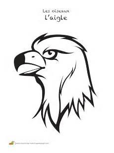 aigle dessin facile coloriage oiseaux les aigles sur hugolescargot