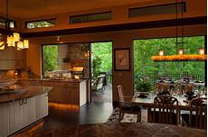 indoor outdoor dining traditional kitchen other metro by mcspadden custom homes
