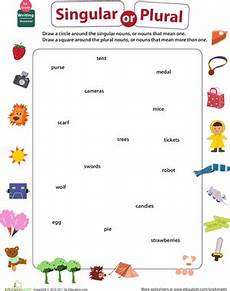 get into grammar singular or plural nouns worksheet