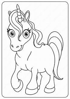 Malvorlagen Unicorn Yellow Printable Unicorn Coloring Page In 2020 Unicorn Coloring