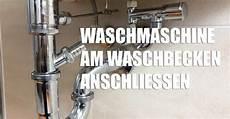 waschmaschine am waschbecken anschlie 223 en montage zubeh 246 r