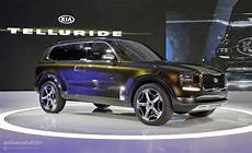 2019 Kia Telluride Suv Spied For The Time Looks