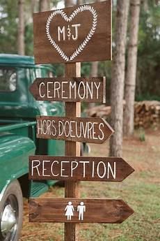 Outdoor Wedding Signs 15 stunning rustic outdoor wedding ideas you will