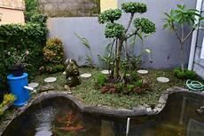 Pin Oleh Craft Di Desain Taman Kolam Ikan Koi Kolam