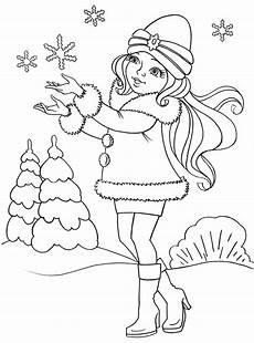 ausmalbilder winter kostenlos drucken 100 bilder
