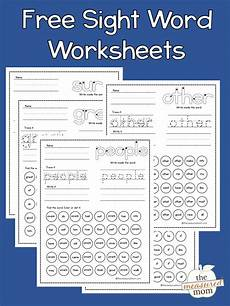 free worksheets on adjectives 18672 free sight word worksheets the measured