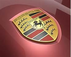 porsche logo badge rhino 3d cad model grabcad