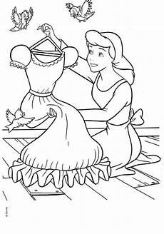 cinderella disney coloring page dibujos colorear