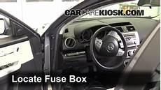 Interior Fuse Box Location 2009 2013 Mazda 6 2009 Mazda