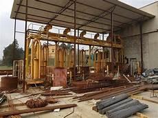 traliccio per impianto per la produzione di traliccio elettrosaldato