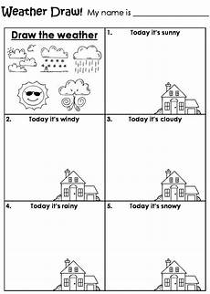 draw the weather worksheet homeschool 2nd grade pinterest daily routine schedule