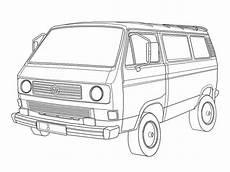 Malvorlagen Autos Vw Malvorlagen Vw T3 Skizze