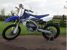 Yamaha Yzf 250 Mx Bike 2014